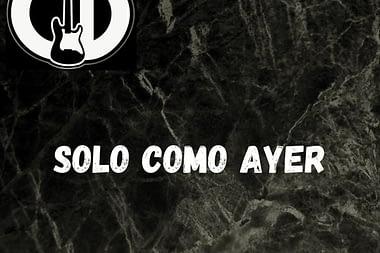 """""""Solo como ayer"""" - Víctor Cid"""