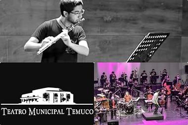 Concierto para flauta en Temuco