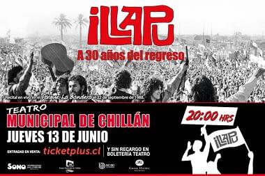 Illapu - 30 años del regreso - Chillán 2019