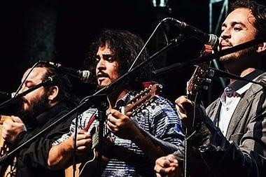 Lanzamiento del disco de Chiq'Aru - Valparaíso