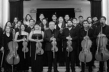 La Orquesta de Cámara del Municipal de Santiago en Temuco